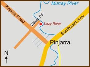 Pinjarra Map