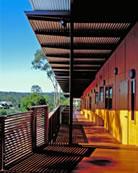 Veranda access to Guest Rooms